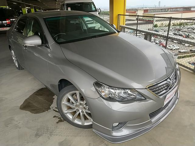 トヨタ 250G Sパッケージリラックスセレクション 純正ナビTV フロントリップ