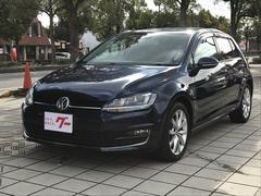VW ゴルフTSIハイラインブルーモーションテクノロジー TV ナビ