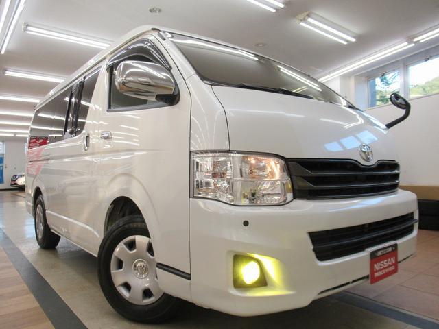 トヨタ  スーパーGL プライムセレクション ユーザー買取車・前後ソナー・100V電源・ドラレコ