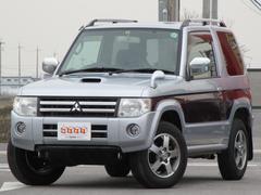 パジェロミニエクシード 4WD ターボ 社外SDナビ