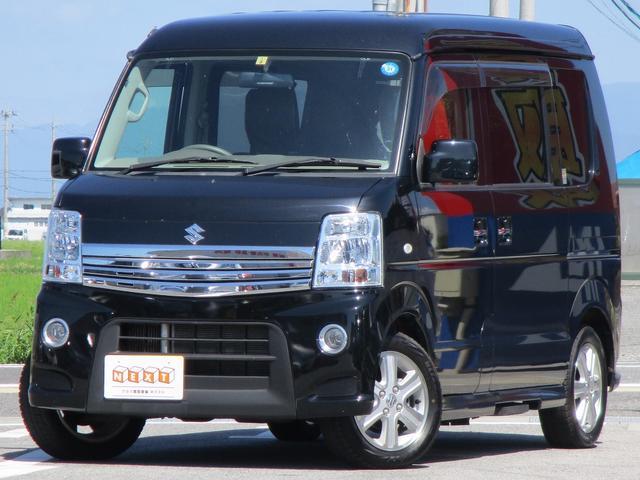 スズキ PZターボスペシャル 4WD 両側電動ドア 社外SDナビ