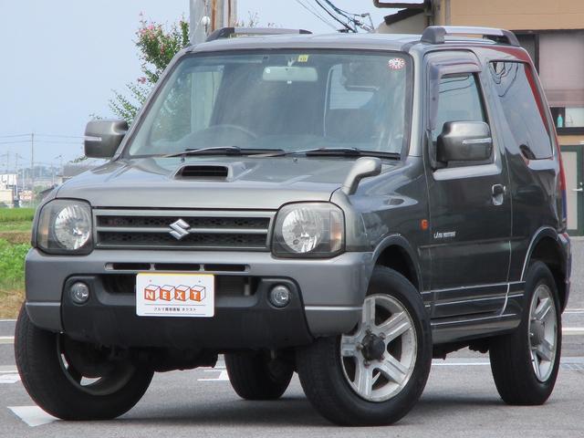 スズキ ジムニー ランドベンチャー 4WD ターボ 社外CD