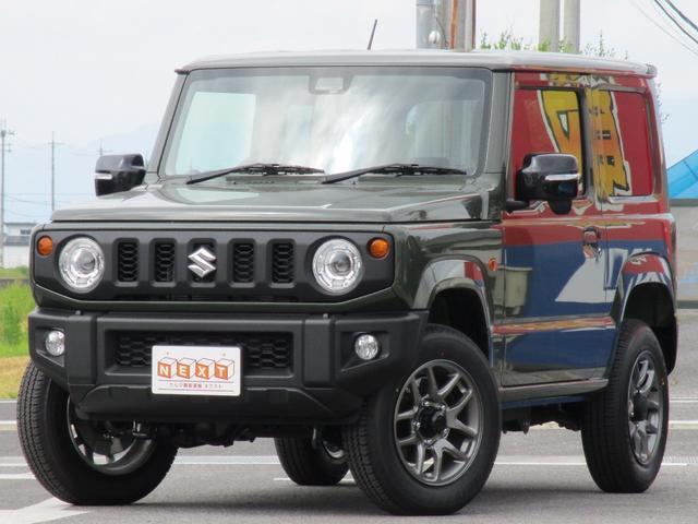 ジムニー(スズキ) XC 4WD ターボ 届出済未使用車 中古車画像