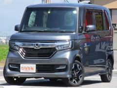 N−BOXカスタムG EXターボホンダセンシング 4WD 両側電動ドア 純正SDナビ