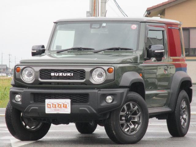 スズキ ジムニーシエラ JC 4WD 社外SDナビ フルセグTV