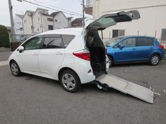 ラクティスX リヤーシート付きスローパータイプ1福祉車両