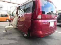 セレナ20Sセカンドリフトアップシート(7名)福祉車両