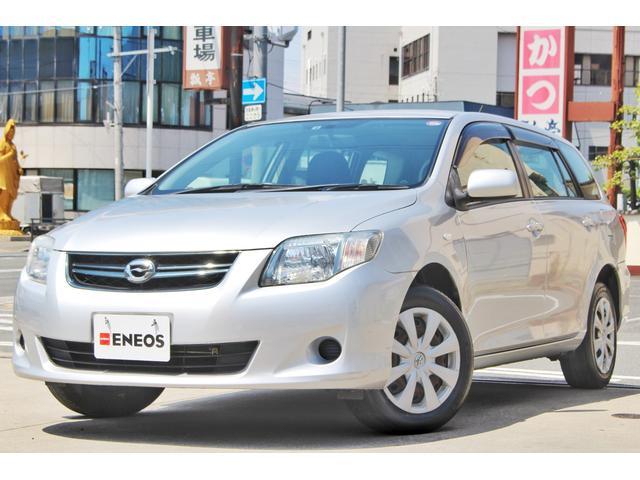 トヨタ カローラフィールダー 1.5X ETC キーレス CD・ラジオ聴取可 ABS パワーウィンドウ パワステ 電格ミラー 運転席・助手席エアバッグ