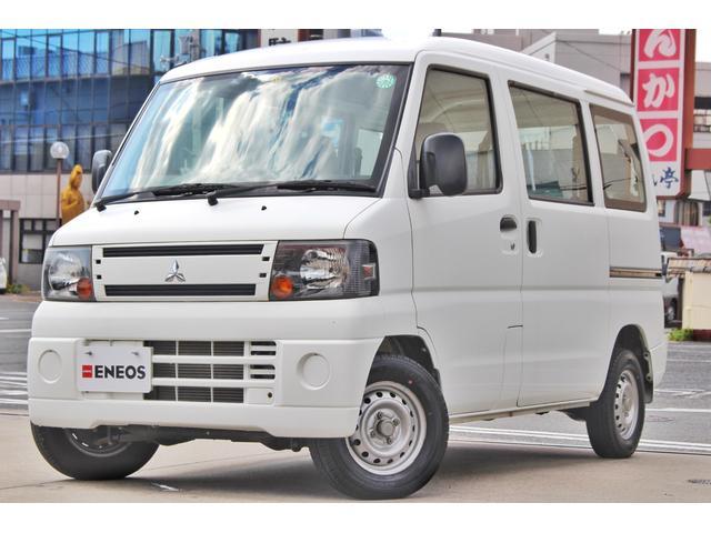 三菱 ミニキャブバン CD 走行距離3.6万km エアコン パワステ 運転席・助手席エアバッグ 両側スライドドア ラジオ聴取可能