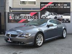 BMW645Ci SUPERSPRINTマフラー 黒革シート