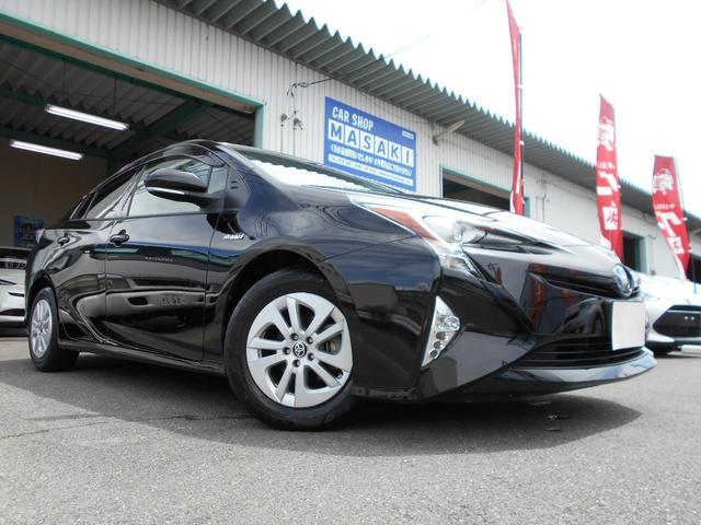 トヨタ プリウス S セーフティセンス SDナビ ETC 全国1年保証