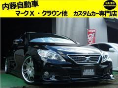 マークX250G リラセレ WORK19アルミ・新品テイン車高調