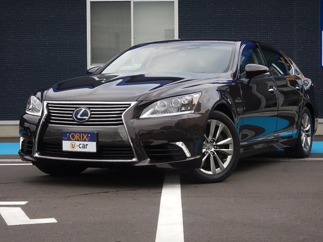 レクサス LS LS600hL エグゼクティブパッケージ 4WD衝突軽減装置/ETC/コーナーセンサー/ナビ