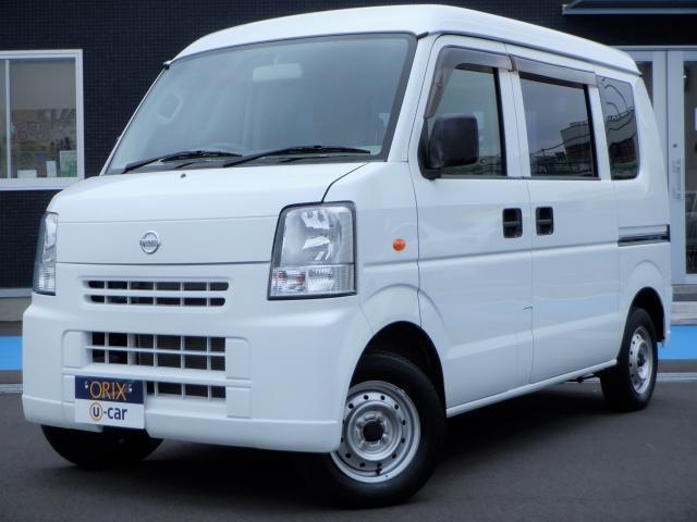 日産 NV100クリッパーバン DX 両側スライド 両席エアバック パワーステアリング エアバック AC