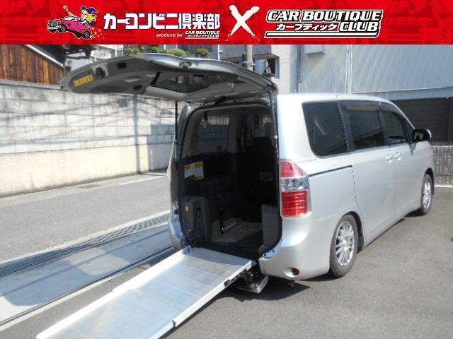 トヨタ X LセレクションウェルキャブスロープII3rdシート無
