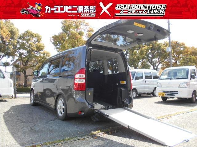 トヨタ X LウェルキャブスロープIIサードシート無6名