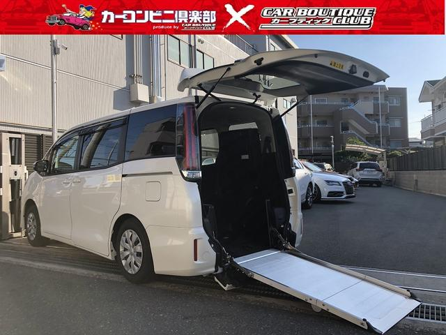 トヨタ  2.0Xウエルキャブ 車いす仕様 スロープタイプII サードシート付き 電動スロープ 電動ウインチ 電動固定装置 6人乗り