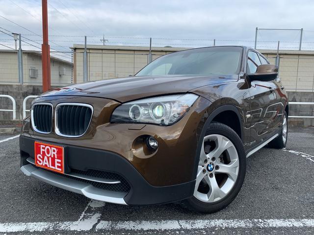 BMW X1 sDrive 18i イカリング 社外ナビ ETC