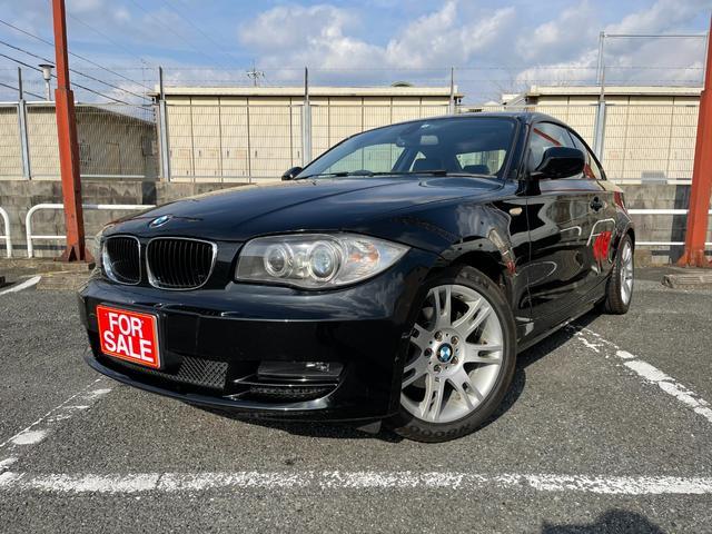 BMW 120i 社外ナビ バックカメラ ETC LEDフォグ Mスポアルミ 新品シートカバー