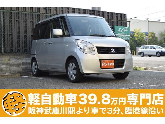 スズキ X スライドドア 新品バッテリー 新品ワイパー 軽自動車