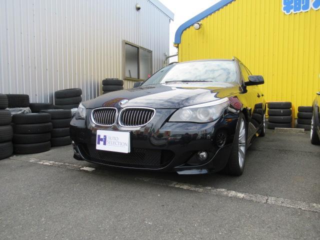 BMW 525iツーリング Mスポーツパッケージ  SR 黒革シート