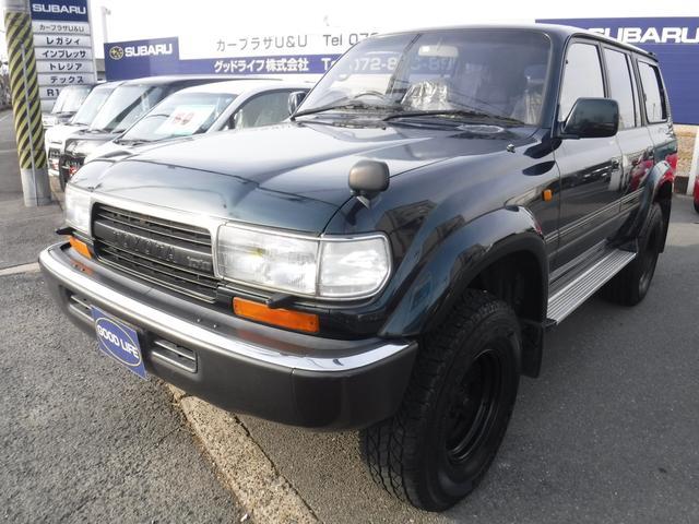 トヨタ VXリミテッド4WDサンルーフETC社外ナビ社外アルミ