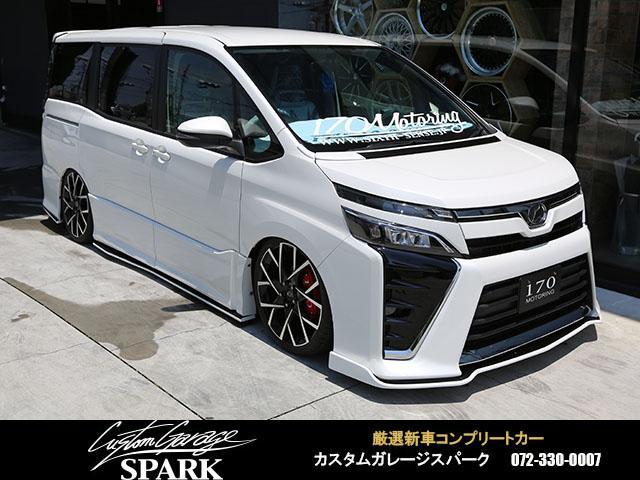 トヨタ ZS ジュールコンプリート 車高調 19アルミ エアロ