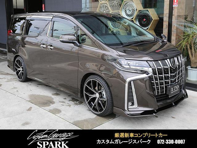 トヨタ 2.5S 21アルミ 車高調 アルパインナビ 後席モニター