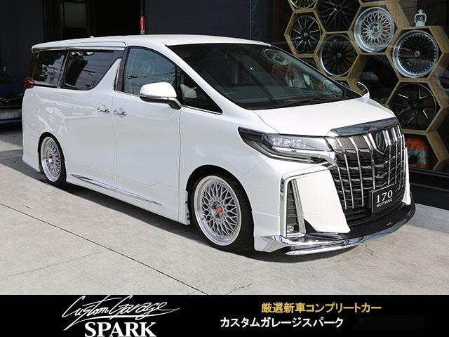 トヨタ 2.5S モデリスタ 20アルミ 車高調 アルパインBIGX