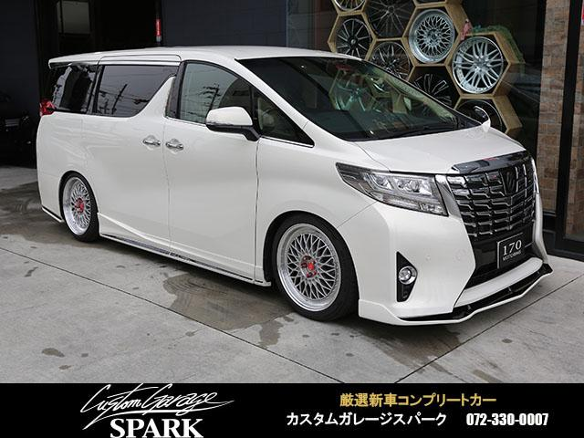 トヨタ 2.5G ジュールエアロ 車高調 20アルミ アルパインナビ