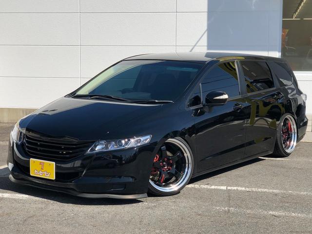 ホンダ L・社外19インチアルミ・車高調・グリル&マフラー