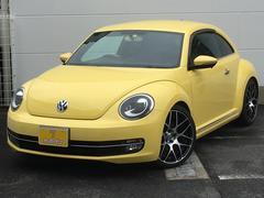 VW ザ・ビートルデザイン・1オーナー・社外HDDナビ・外19AW・ローダウン