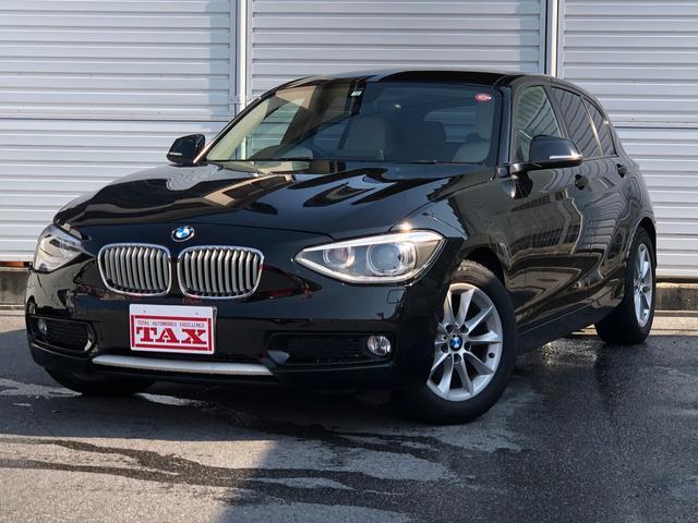 BMW 116i スタイル 白革シート 純正HDDナビ バックソナー