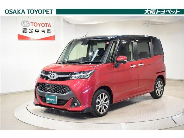 トヨタ タンク カスタムG-T W電動ドア DVD 衝突安全ブレーキ エアロ