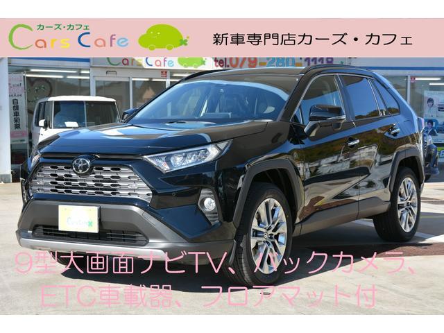 トヨタ RAV4 G Zパッケージ9インチ大画面ナビバックカメラETCマット付