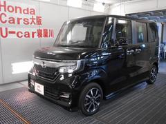 N BOXカスタムG・Lホンダセンシング Mナビ バックカメラ 当社試乗車