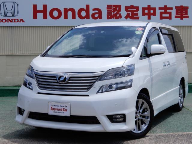 トヨタ 2.4Z プラチナセレクションII HDDナビ リヤモニター