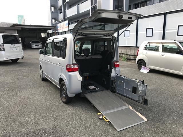 ホンダ アイテム 福祉車両 スロープ