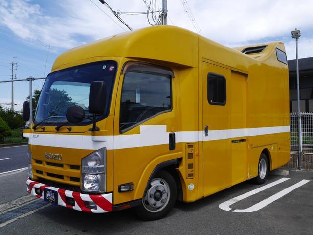 エルフトラック  自由設計 移動販売車 キャンピンカー 普通免許OK 1NO・8NO ドラレコ ETC Bカメラ NOX PM適合