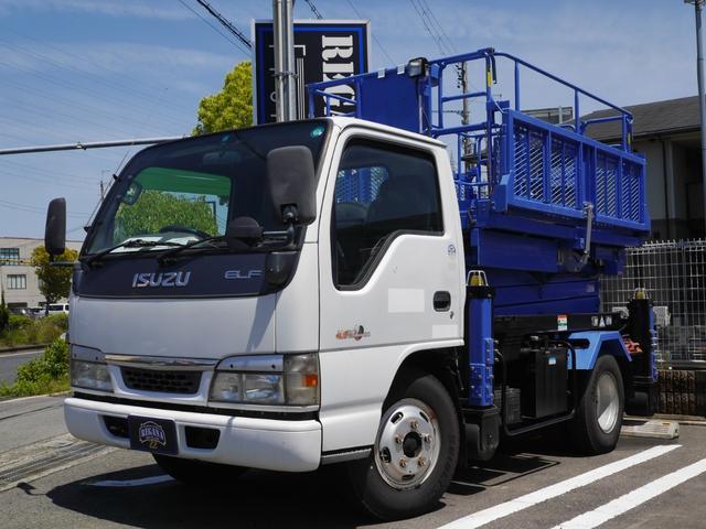 いすゞ エルフトラック  高所作業車 エスマックTC60 最大作業床高6.5m 最大積載荷物450kg