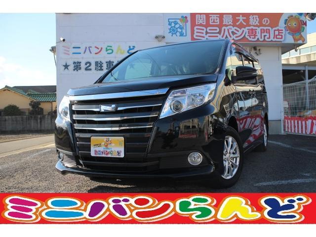トヨタ ノア X ディライトプラス イモビライザー アイドリングストップ Bカメラ LEDヘッド ETC スマートキー 両側自動ドア