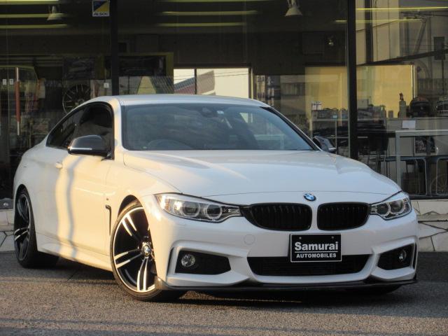 BMW 420iクーペ Mスポーツ 19インチアルミ