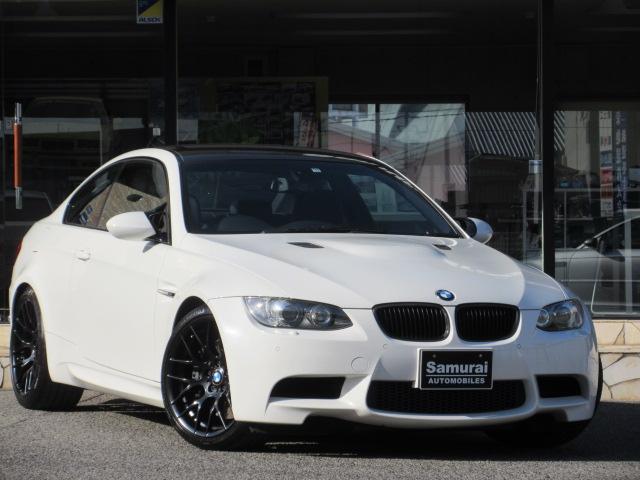 BMW M3クーペ M DCT MドライブPKG GTSホイール AKRAPOVICチタンマフラー Mパフォーマンスステアリング 後期テール