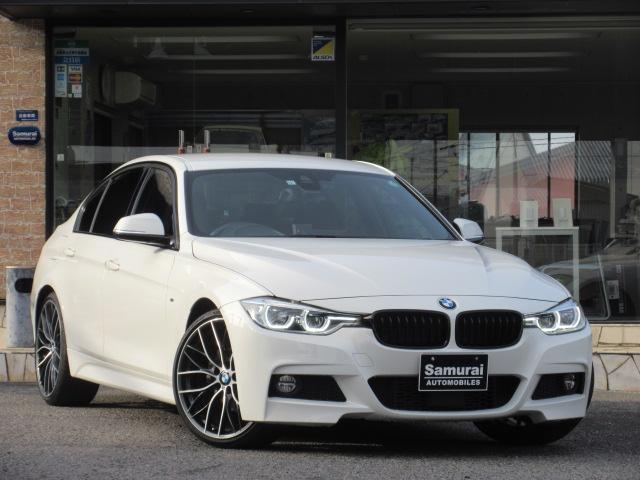 BMW 320d Mスポーツ LCIモデル Mパフォーマンス20インチアルミ ブラックグリル