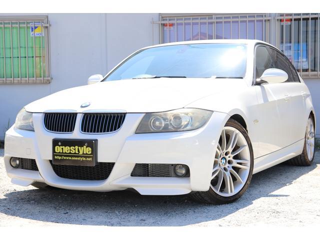 BMW 3シリーズ 323i Mスポーツパッケージ サンルーフ・キーレス・HDDナビBカメラ・Pシート・AUTOライト・HID・フォグ・ETC・MT付AT・電格ミラー・18AW