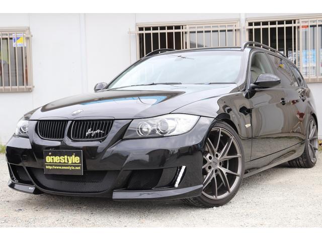BMW 3シリーズ 320iツーリング LUMMAバンパー NICHE19AW AUTOライト コンフォートアクセス Pシート HDDナビ