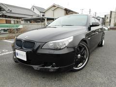 BMW525iハイラインPKG 黒革 シュニッツァーエアロ