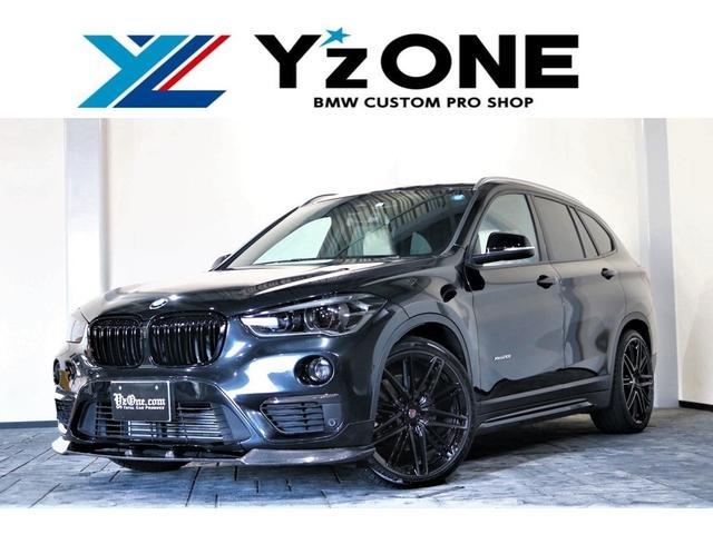 BMW X1 xDrive 20iレザーPKG CARBONパッケージ CRIMSON CASSANO 20inch
