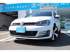 VW ゴルフGTIGTI  1オーナー 禁煙車 DCC  純正ナビ 18AW