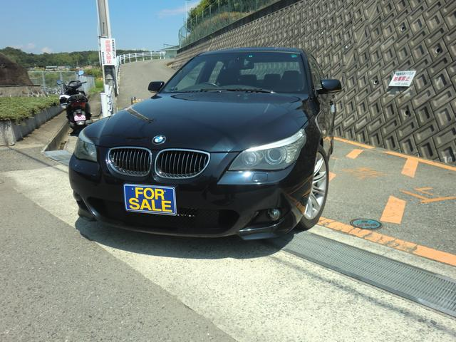 BMW 525i Mスポーツパッケージ 後期 サンルーフ HDDナビ